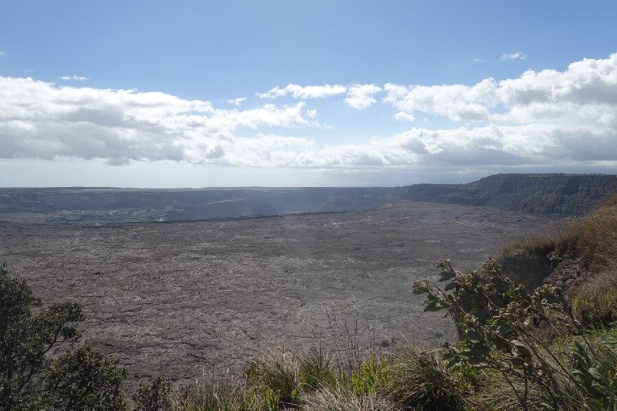 Kilauea volcan caldera