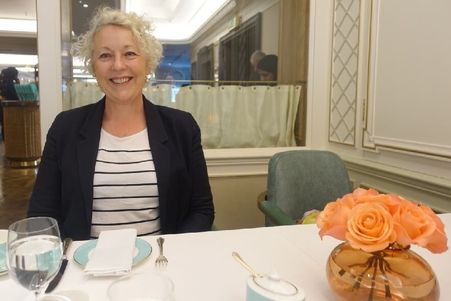 Jo Karnaghan Fortnum and Mason Diamond Jubilee Tea Room