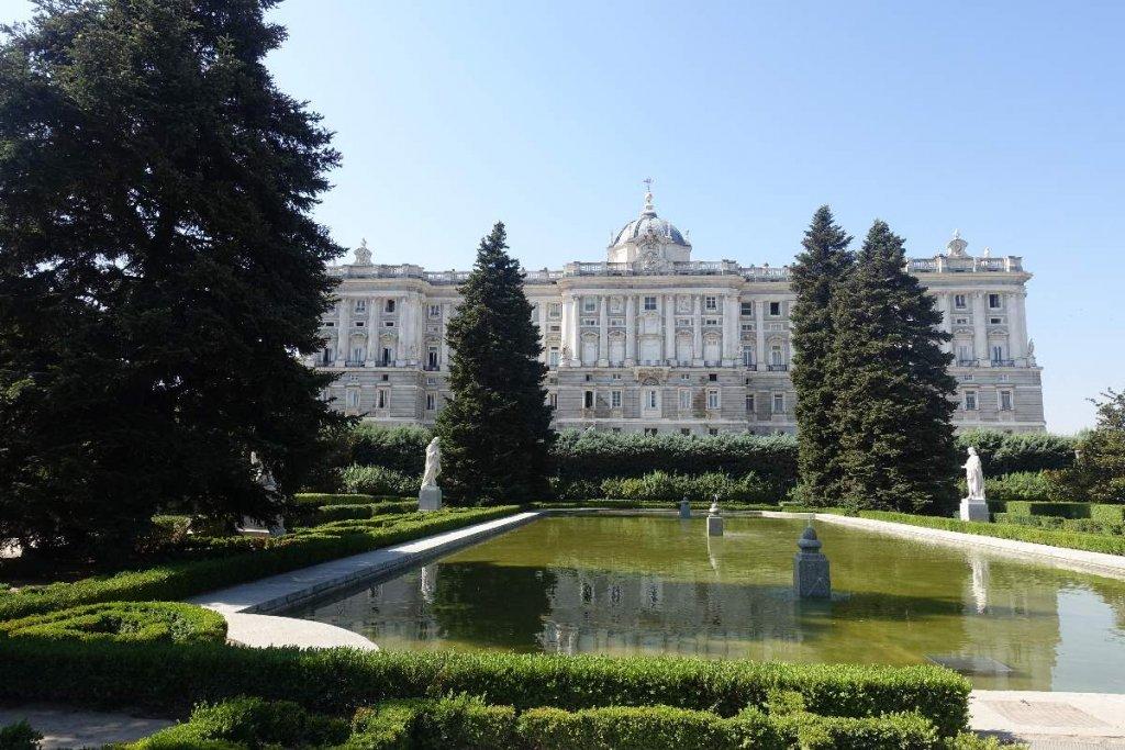 Jardines de Sabatini Sabatini Gardens Madrid Madrid Royal Palace